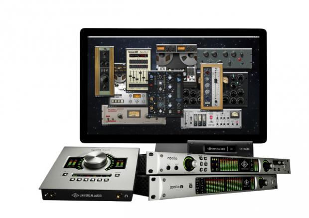 La gamme d'interfaces Universal Audio