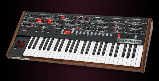 Le nouveau Sequential Prophet-6 de Dave Smith Instruments