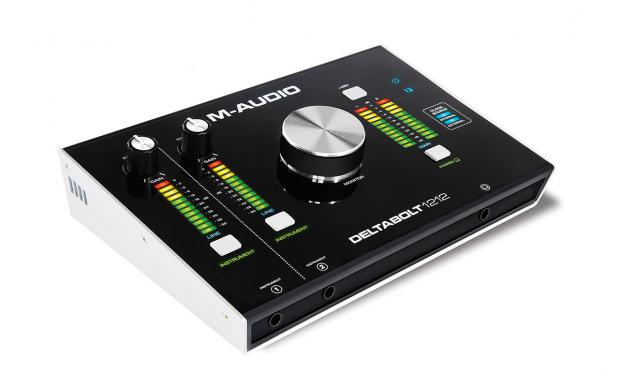 La nouvelle interface Deltabolt 1212 Thunderbolt de M-Audio